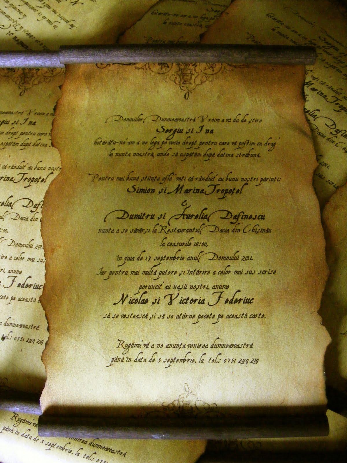 Istoria Invitatiilor De Nunta Invitatii Creative