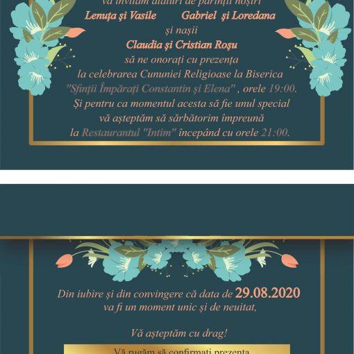 Invitatii Electronice Nunta